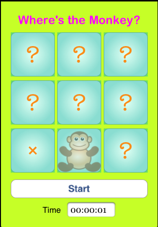 iPhone Open-Source Games: Find the Monkey