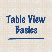 Link toTable view basics