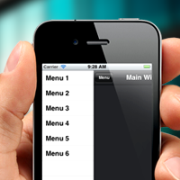 Preview for Titanium Mobile: Create a Sliding Menu for iOS