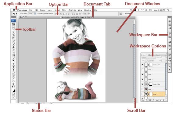 Photoshop Workspace