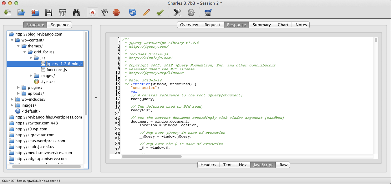 charles web debugging tutorial