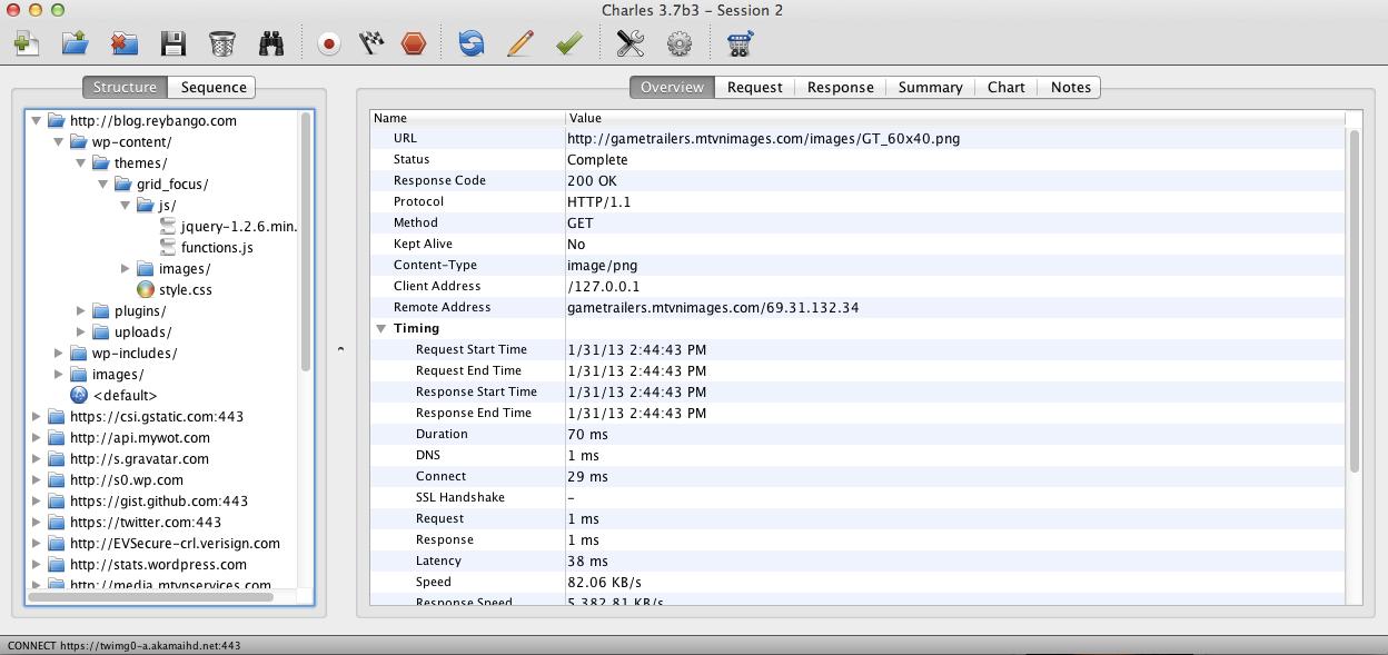 Using Web Debugging Proxies