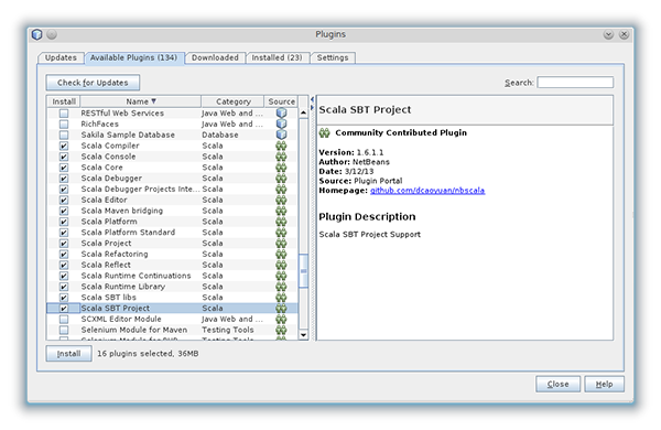 Netbeans Scala Plugin