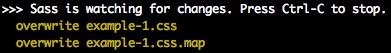sass-command-line