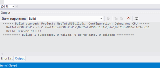 Integrating a JS Build Process Into MSBuild in Visual Studio 2012
