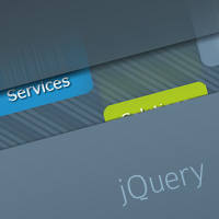 Create a cool animated navigation with css and jquery