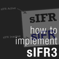 Preview for How To Implement sIFR3 Into Your Website