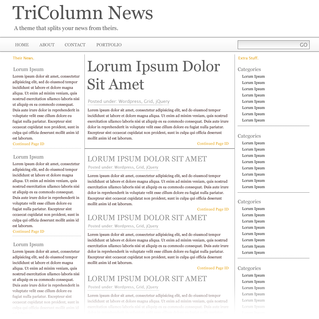 build a newspaper theme with wp query and the 960 css framework