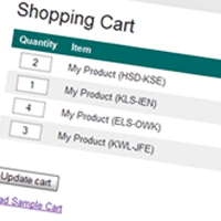 Preview for Build An AJAX Powered Shopping Cart