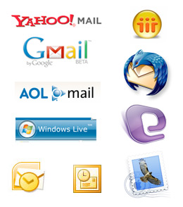 Some of the various clients you should test your emails in.
