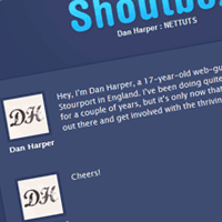 Preview for Create a Basic Shoutbox with PHP and SQL
