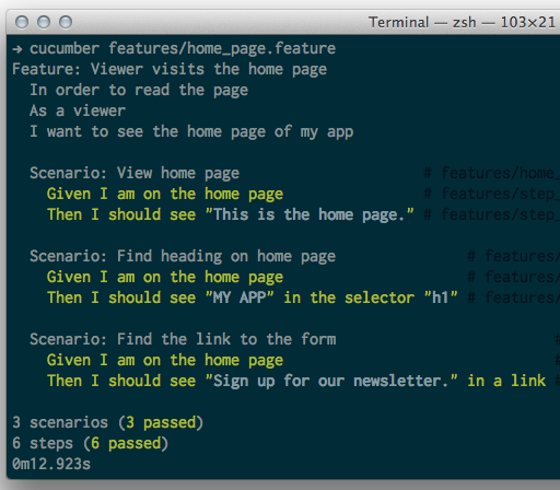 Ruby for Newbies: Testing Web Apps with Capybara and Cucumber