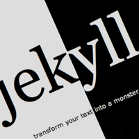 Building static sites with jekyll
