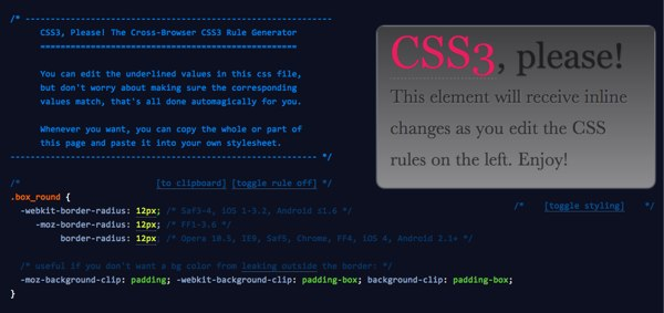 CSS3 Please