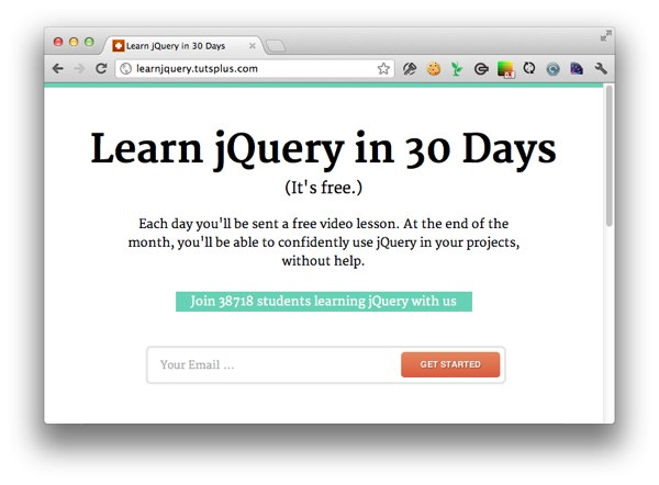 The Largest jQuery Class in the World