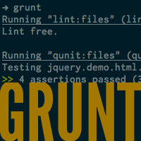 Link toMeet grunt: the build tool for javascript