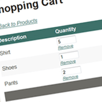 Preview for Build a Shopping Cart in ASP.NET