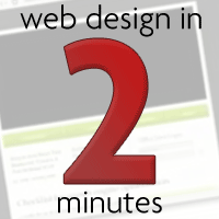 Link toWeb design in two minutes