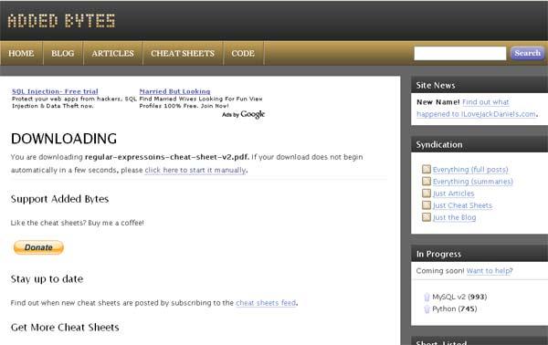Added Bytes Website