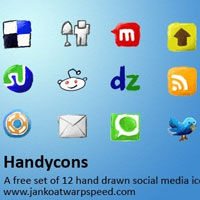 Hand drawn icons – handycons