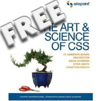 The art and science of css: free!