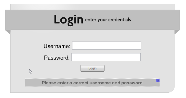 building a login system