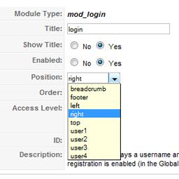 joomla templates Joomla templates login_module login module
