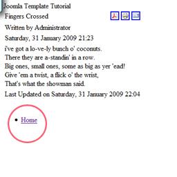 joomla templates Joomla templates page_menu page menu