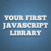 Preview for Build Your First JavaScript Library