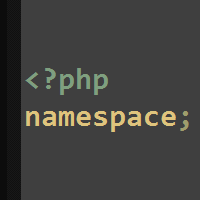 Preview for Namespacing in PHP
