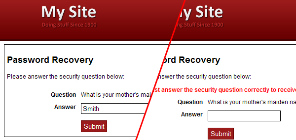 Security Question