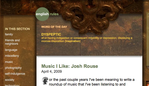 EnglishRules Screenshot