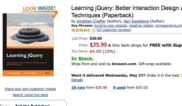 jQuery Book