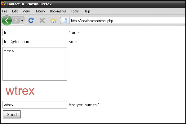 php email