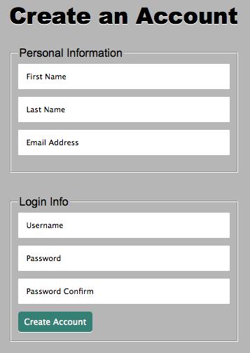 Signup Form