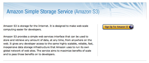 Amazon Simple Storage Service S3
