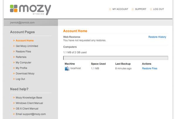 Mozy Online