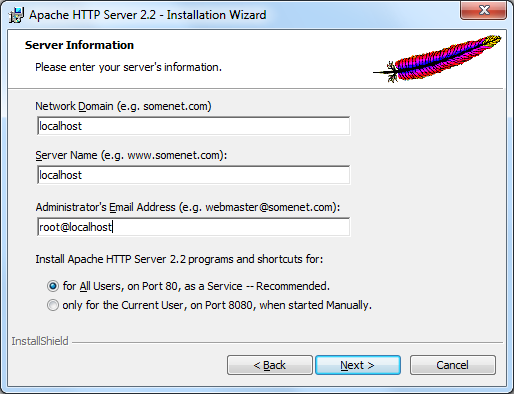 Apache Installer 1