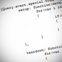 Custom events, and the special events api in jquery