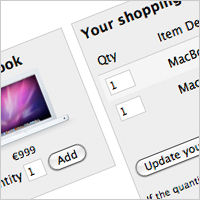 Link toHow to build a shopping cart using codeigniter and jquery