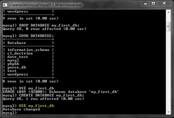 Mysql part1 welcome to nhancv 39 s website - Mysql create table example ...
