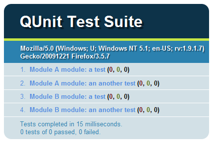How to Test your JavaScript Code with QUnit
