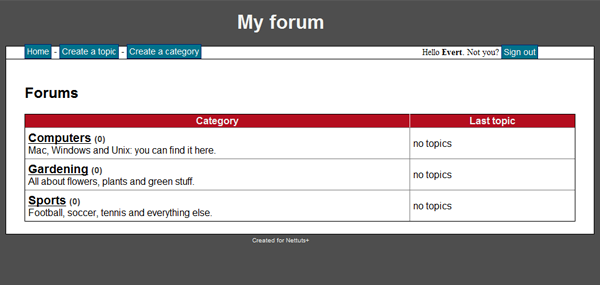How to Create a PHP/MySQL Powered Forum From Scratch