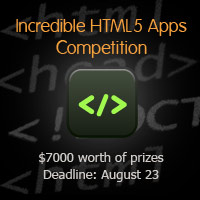 Link toWinners announced: build an incredible html5 app: $7000 competition