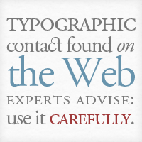 Preview for An Analysis of Typography on the Web