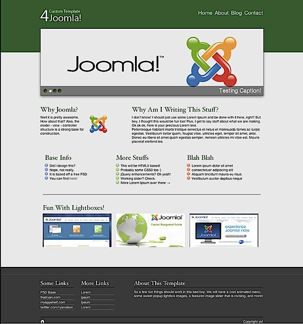 Custom Joomla Template   How To Build A Joomla Template Start To Finish