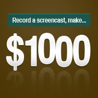 Preview for Winner Announced! Record a Screencast, Make $1,000