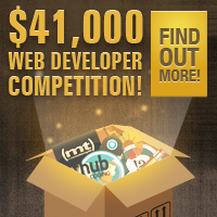 Preview for Reminder: $41,000 Web Developer Competition
