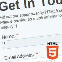 Preview for Build a Neat HTML5 Powered Contact Form