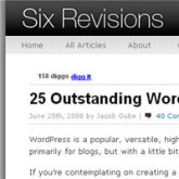25 outstanding WordPress designs